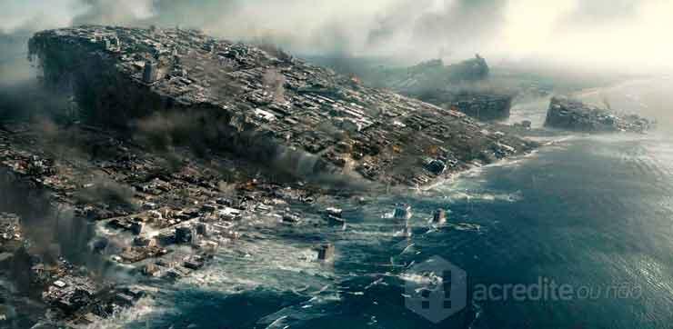 O filme foi banido por trazer um cenário apocalíptico no aniversário do Kim Il Sung