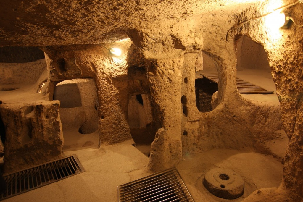 Cidade subterrânea localizada na Turquia