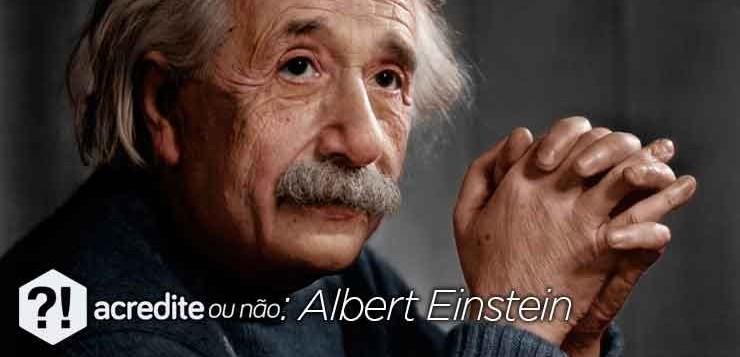 Albert Einstein, autor da teoria da relatividade.