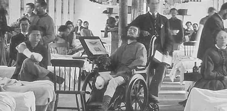 A amputação salvou mais vidas do que qualquer outro procedimento médico em tempo de guerra