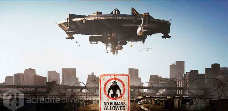 O hit sci-fi Distrto 9 não foi bem visto pelos Nigerianos.