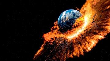 Catastrofe no planeta Terra