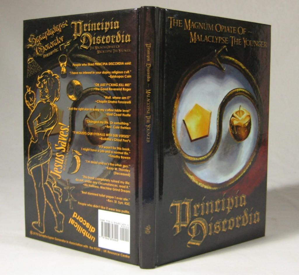 O livro Principia Discordia é vendido até hoje