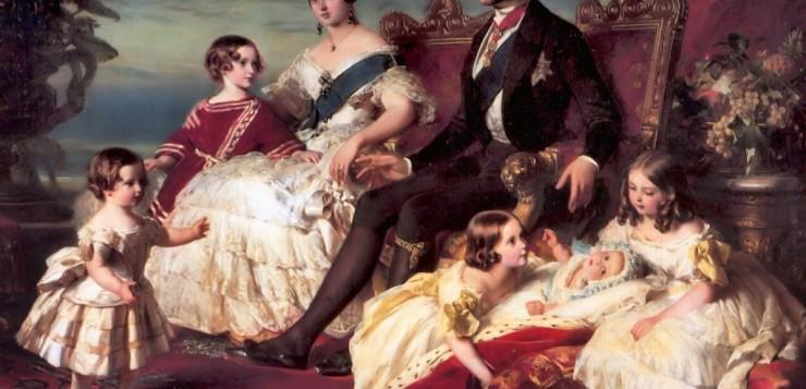 Rainha Victoria em seu Trono
