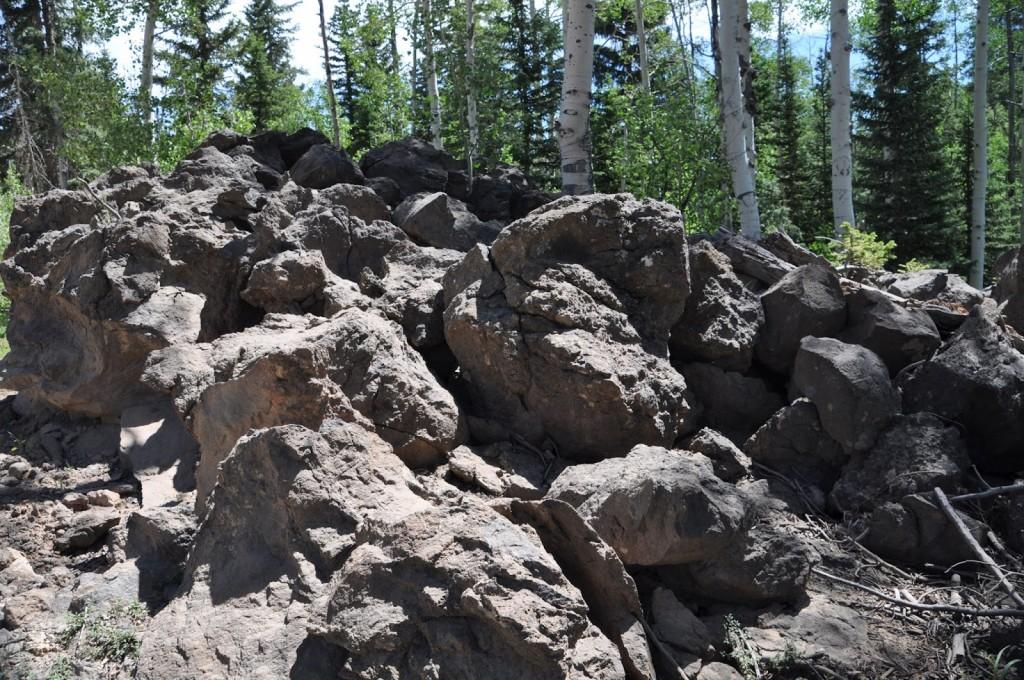 Deslizamentos de terra gigantesco