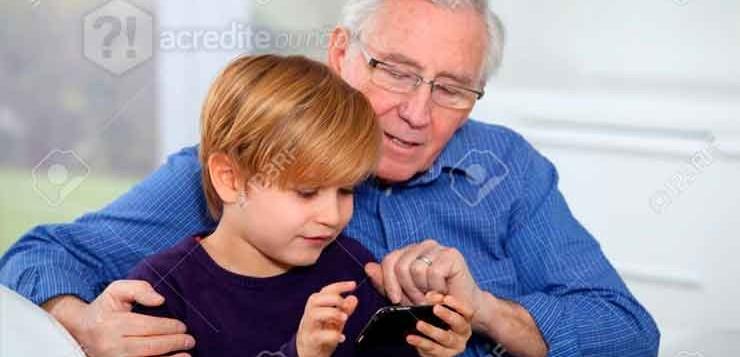 criança-velho-idoso-neto-avô