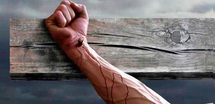 A cruxificação matava as vítimas por asfixia lenta.