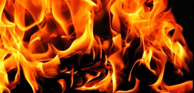 Morte por fogo descola a pele da vítima.