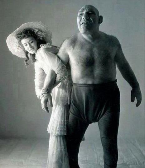 foto historia Maurice Tillet shrek 1943
