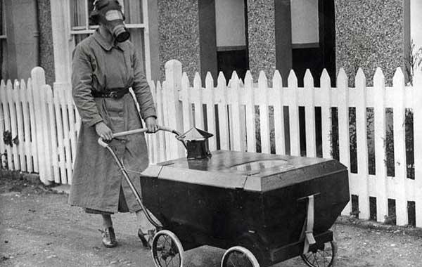 foto historia bebe carrinho prova gas