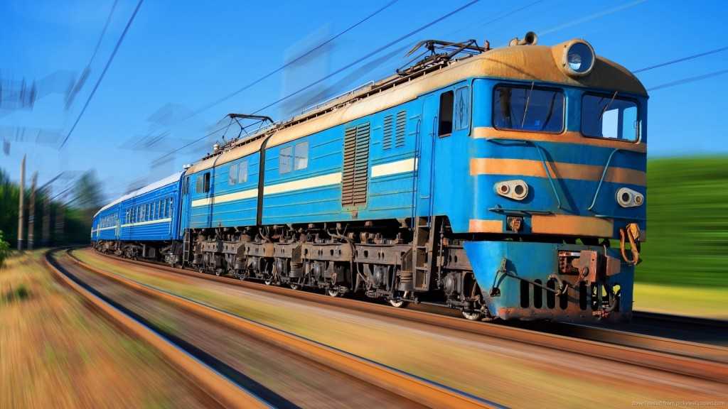 Jovem romena é eletrocutada em trilho de trem