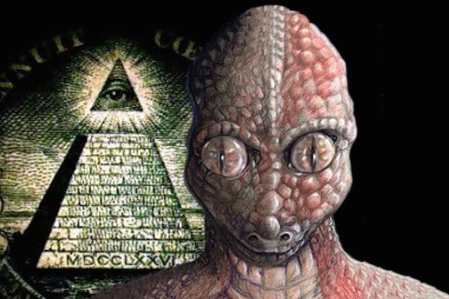 reptiliano illuminati