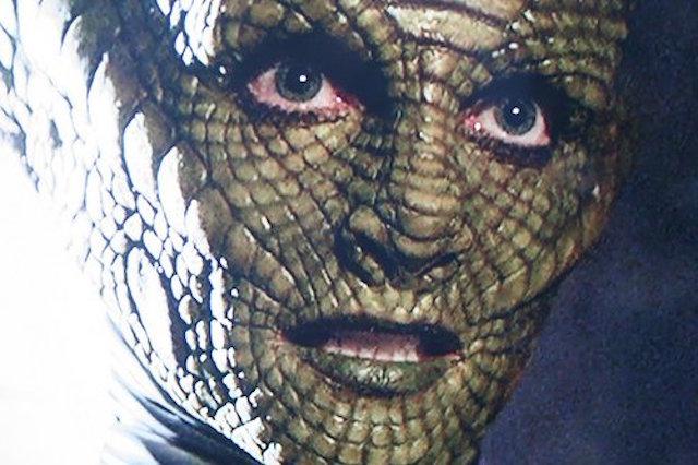 rosto face reptiliano