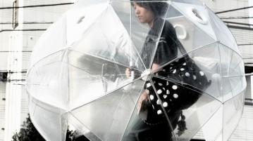 Guarda chuva para o corpo todo