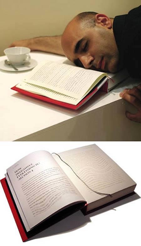 Travesseiro livro