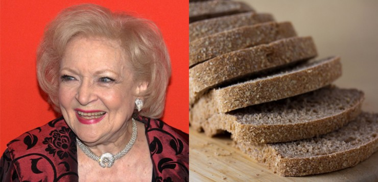 betty white pao fatiado