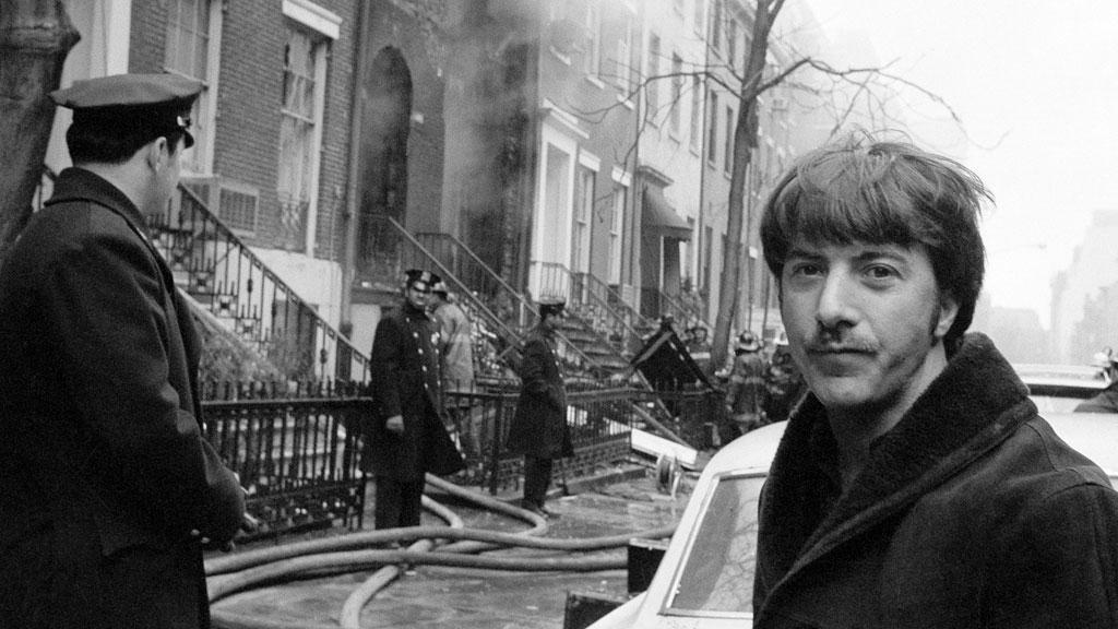 Casa de Dustin Hoffman após a explosão
