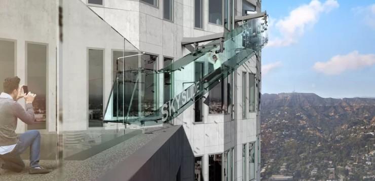 O Skyslide ficará a 300 metros de altura.