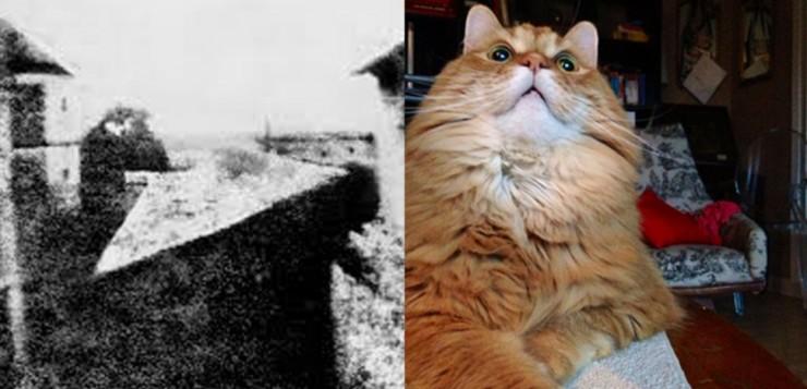 foto antiga e foto nova