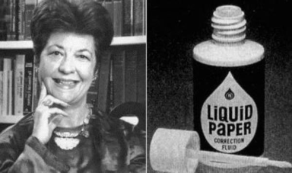 liquid paper Bette Nesmith Graham