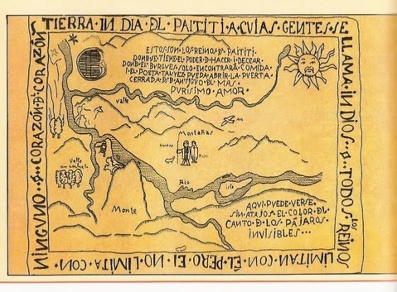 A localização de Paititi permanece um mistério.