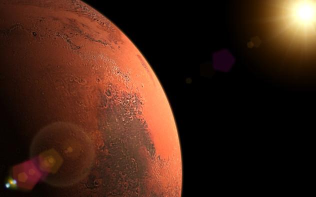 marte planeta lateral