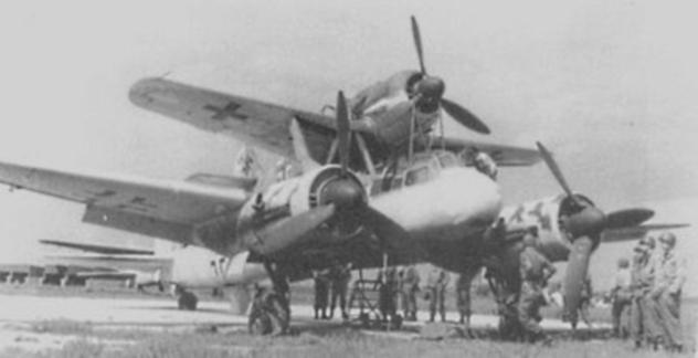 mistel-aeronave