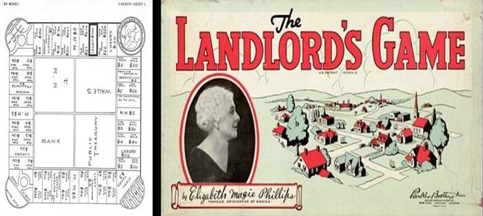 monopolio banco imobiliario Elizabeth Magie