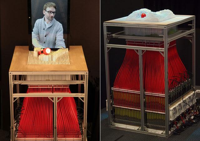 objetos MIT tocar remotamente
