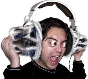 ouvir musica alta