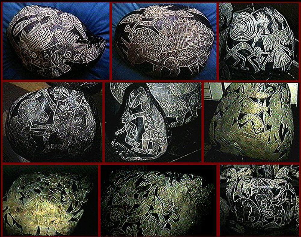 Pedras misteriosas de Ica.