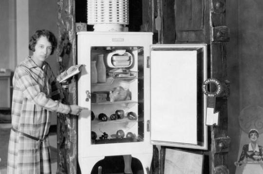 refrigerador eletrico Florence Parpart