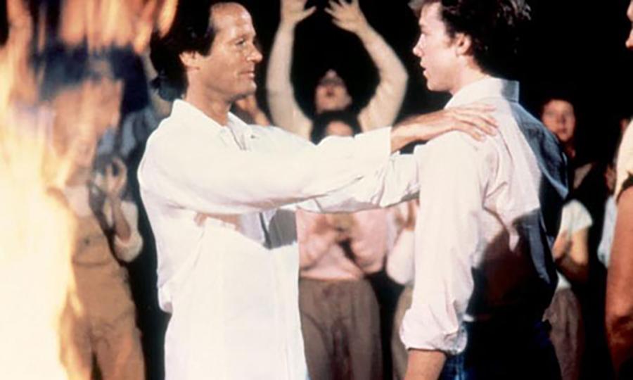 Cena do filme Seita de Fanáticos 1982