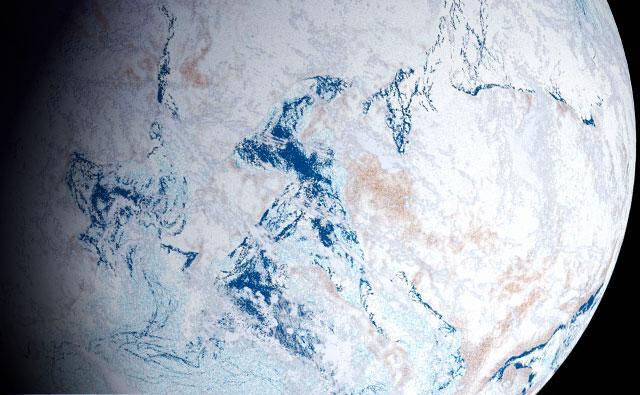 terra congelada