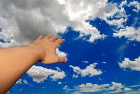 voando nuvens projecao astral