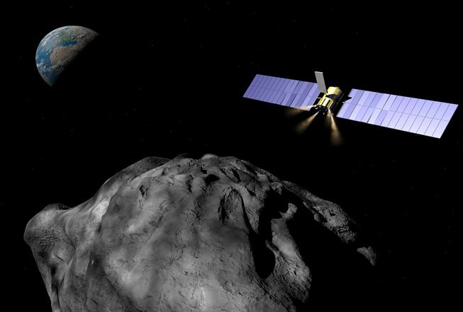 asteroide trator gravitacional sonda