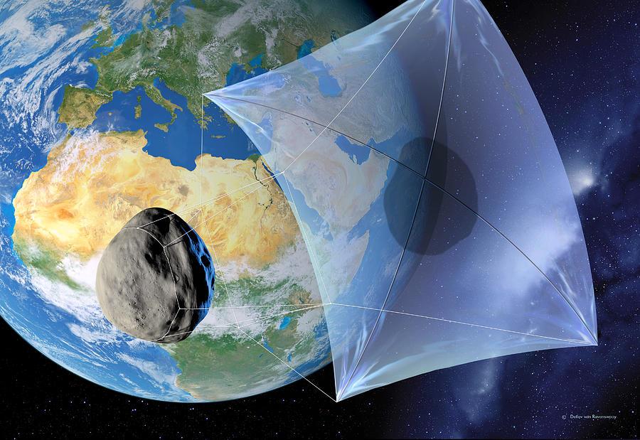 asteroide vela solar