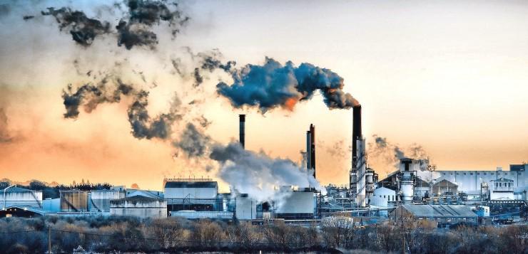 poluição fabricas industrias