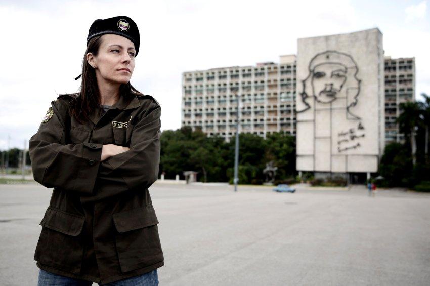 Tanja Nijmeijer auf Cuba