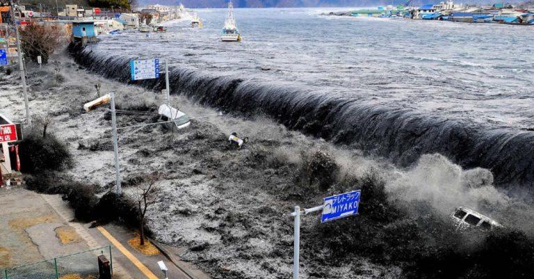 Como seria se um tsunami atingisse a costa do Brasil?