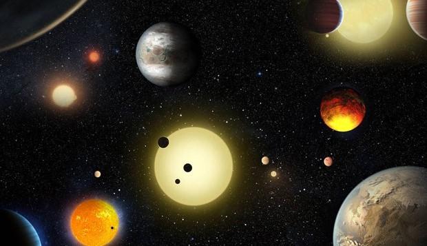 Representação artística das novas descobertas feitas pela Nasa (Foto: divulgação)