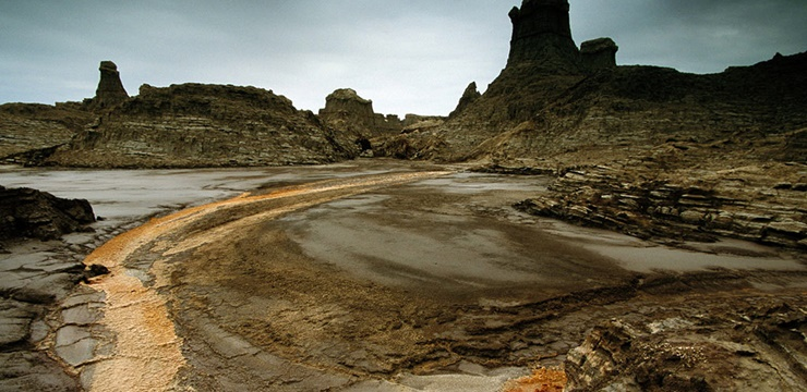 Deserto de Danakil (Foto: Carsen Peter / Flickr)