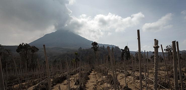 Monte Sinabung (Foto: Wikimedia)
