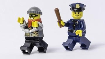 lego policial bandido
