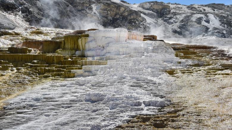 vulcão caldeira yellowstone