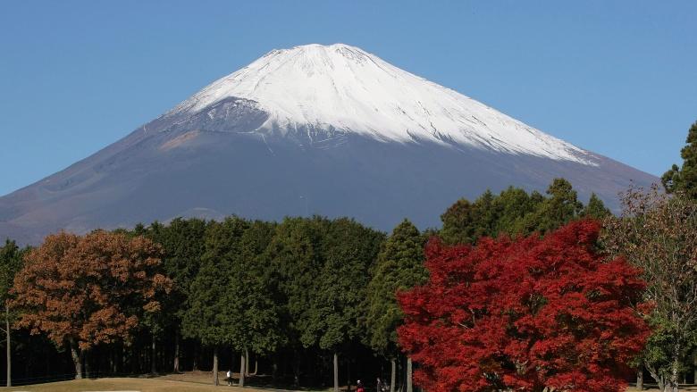 vulcão monte fuji