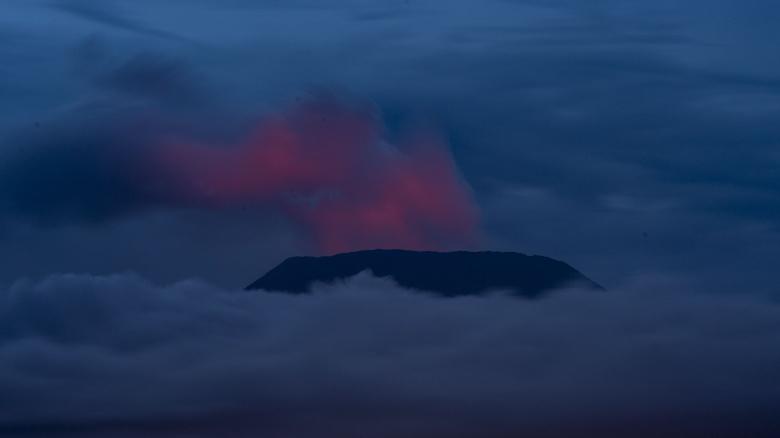 vulcão monte nyiaragongo