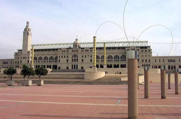 O Estádio Olímpico Lluís Companys, em Barcelona (Foto: Wikimedia)