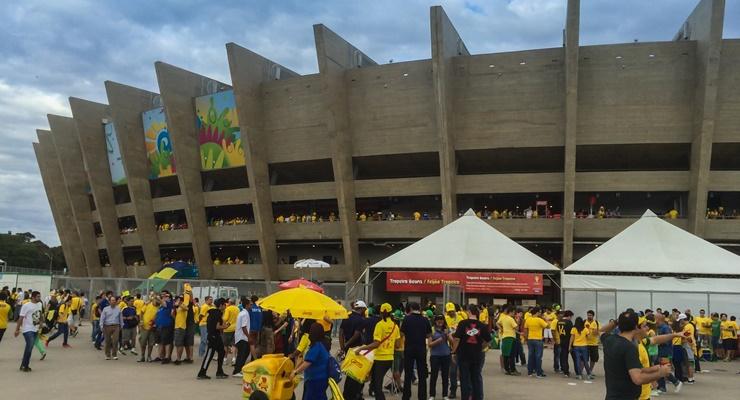 O estádio do Mineirão, antes do vexame (Foto: Wikimedia Commons)