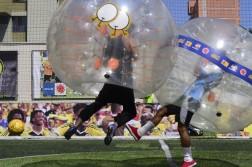 Futebol de bolha